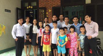 Hình ảnh công ty Kinghomes thăm làng S.O.S Gò vấp