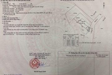 Mở bán 8 nền đất thổ cư 100% tại phường Binh Tây, Quận 2, chỉ 3.8 tỉ/nền, sổ hồng. LH 0906271879