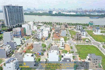 Đất nền nhà phố, biệt thự Saigon Mystery Villas thành phố Thủ Đức. Liên hệ 0903971579