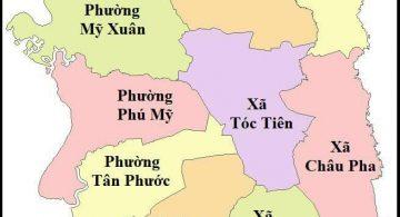 Thông tin cần biết khi mua đất tại Thị Xã Phú Mỹ- BRVT